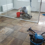 Main York Stone Floor Clean Image