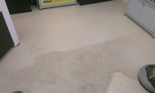 Camera Shop Floor Clean