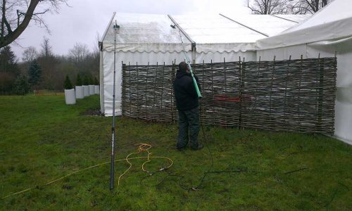 Marquee Cleaning