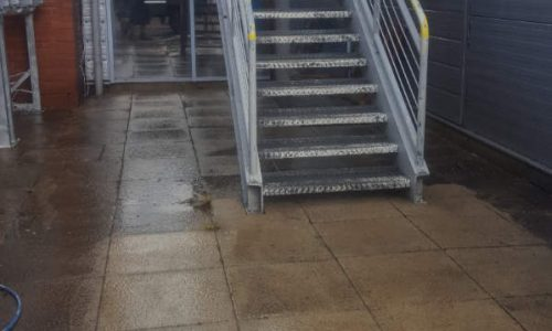 Leisure Centre Pressure Washing