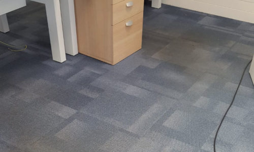 Commercial Office Carpet Clean In Cambridge